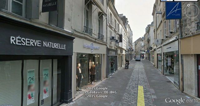 Local commercial Poitiers rue Gambetta 50 m2